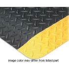 Mat, Ergonomic; Nitricell; WxL: 48 in. x 1 ft. cut to length; Black/Yellow Borders