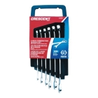 Combination Wrench Set, 6 Pieces, 12 Point