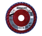 Flap Disc, Type 29, 4.5 in. Dia, 13300 RPM, 120 Grit