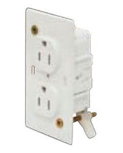 *WIRECON 15A 125V DUPLEX ELECTRICAL WALL OUTLET RECEPTACLE