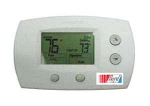 Non Programmable Digital Thermostat 24VAC 32 To 120 Deg F 0 489 C 2 Stage