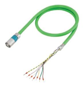 /< Siemens 6fx8002-5ca01-1bj0 tubería de rendimiento longitud = 18 MTR /> sin usar