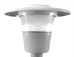 ConTempo Post-Top Decorative Fixture HPS 70W 120V Gray Type V  sc 1 st  wesco & AMERICAN ELECTRIC LIGHTING 245-70S-RN-120-R5-AY Street Light ...