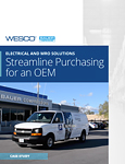Case Study: Electrical and MRO Solutions Streamline Purchasing for an OEM