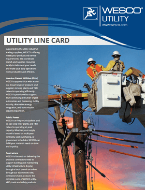 Utility Line Card